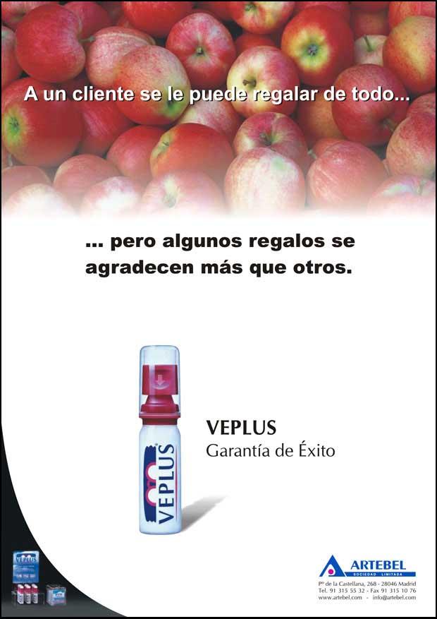 Anuncio 2006 VEPLUS - Limpia lentes, Limpiagafas, Limpia anteojos